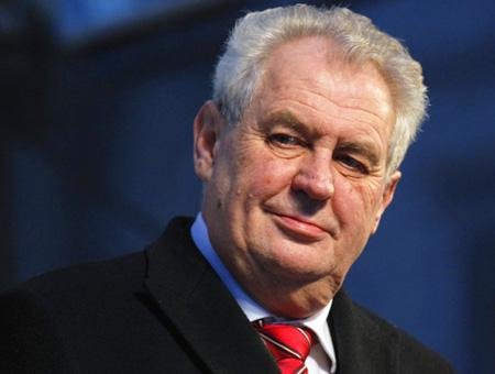 Republica checa milos zeman