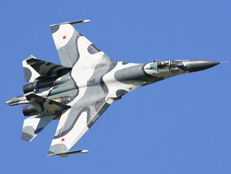 Rusia caza su27 cc