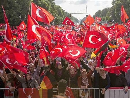Alemania manifestacion turcos