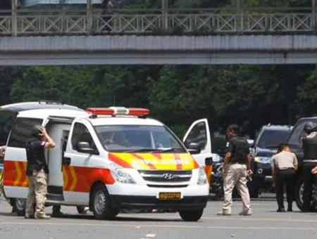 Indonesia atentado ambulancia
