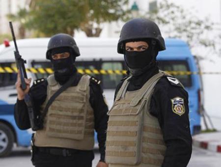 Tunez policia seguridad