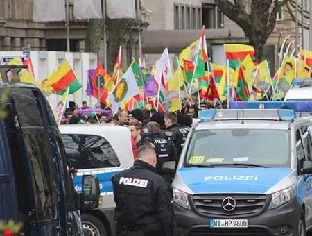 Alemania manifestacion pkk