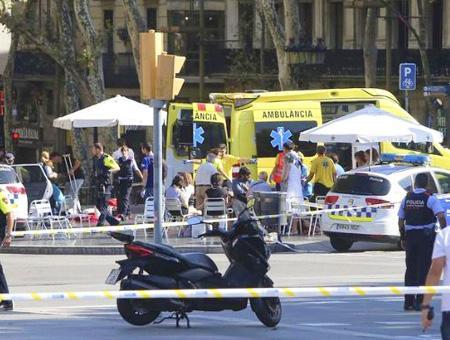 Espana atentado barcelona