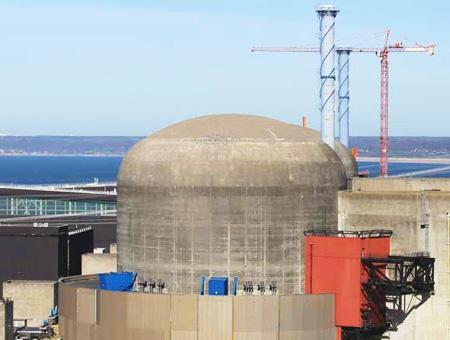 Francia central nuclear