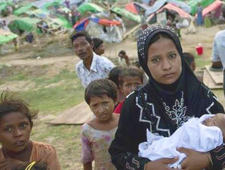 Myanmar minoria rohinya musulmanes