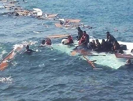 Mediterraneo naufragio inmigrantes