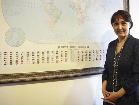 Paraguay embajadora turca inci ersoy