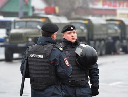 Rusia fuerzas seguridad