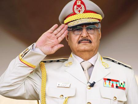 Libia general khalifa haftar