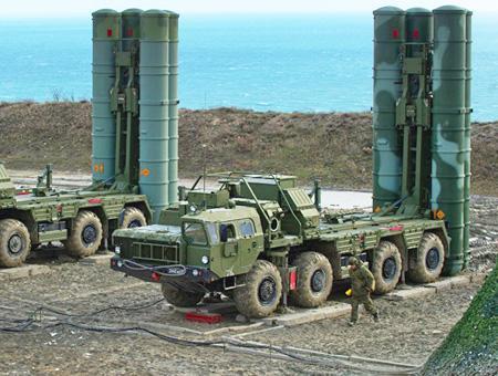 Rusia sistema defensa misiles s400