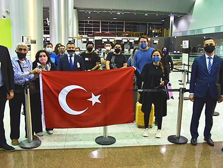 Argentina turcos repatriados pandemia