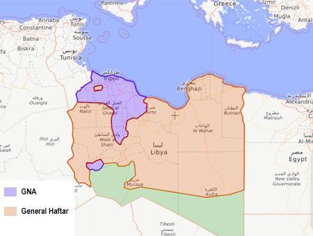 Libia guerra civil