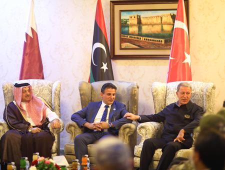 Libia turquia qatar