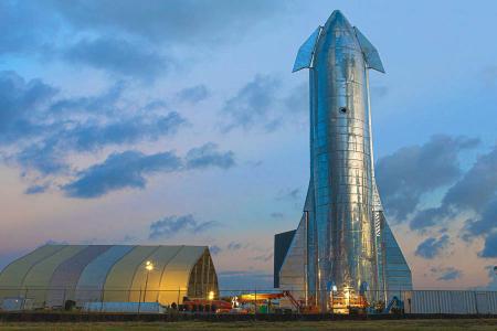 Espacio starship spacex