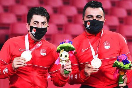 Juegos paralimpicos tokio medallas turquia