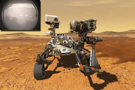 Marte mision mars2020 perseverance