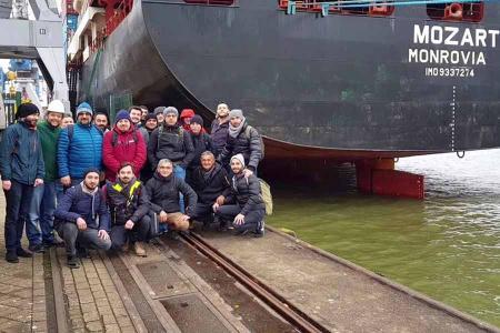 Nigeria marineros turcos secuestrados