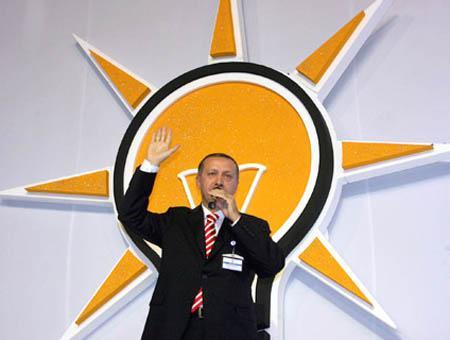 Erdoğan durante sus años al frente del partido AKP, en una foto de archivo
