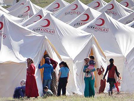 Campo refugiados sirios