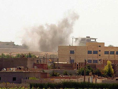 Combates akcakale frontera siria