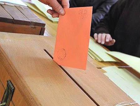 Elecciones urna voto