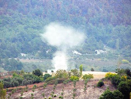 Explosion proyectil siria turquia