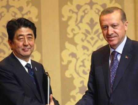 Abe japon erdogan turquia