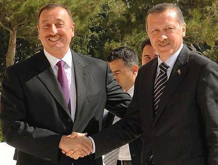 Aliyev erdogan
