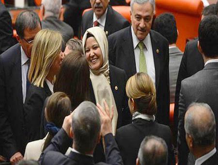 Diputadas parlamento turco