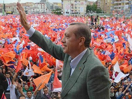 Erdogan mitin