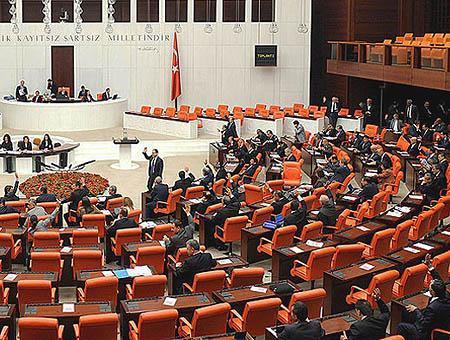 Parlamento turco votacion