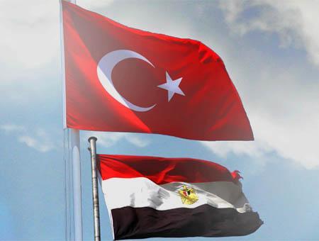 Turquia egipto banderas