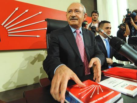 Kemal Kılıçdaroğlu, líder del CHP