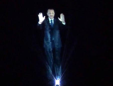 Erdogan holograma