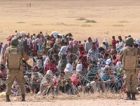 Frontera turquia siria refugiados