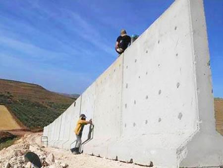 Muro frontera turquia siria