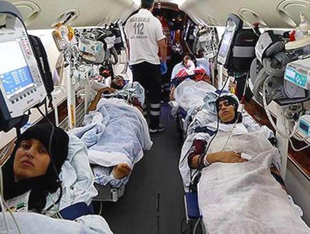 Palestinos heridos turquia