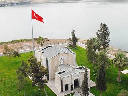 Siria tumba suleyman shah