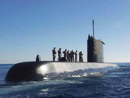 Submarino ejercito turco