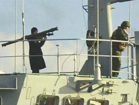 Barco ruso bosforo