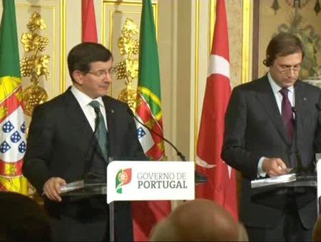 Davutoglu coelho portugal