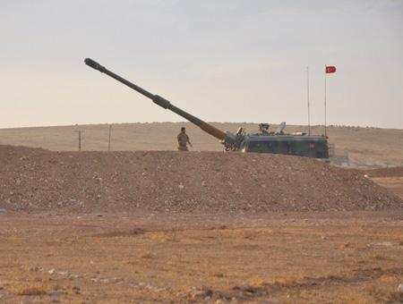 Ejercito turco frontera siria