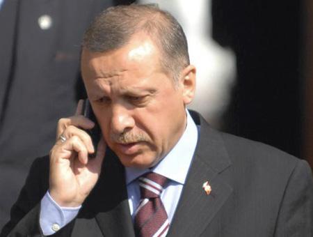 Erdogan telefono