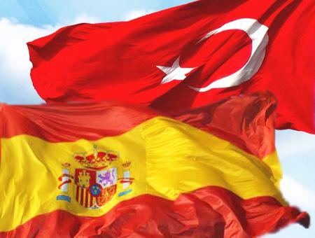 Espana turquia banderas