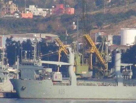 Iskenderun barco militar