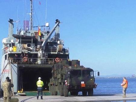 Misiles patriot espana llegada
