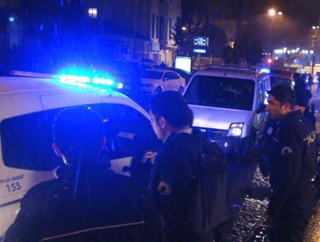 Policia ataque estambul