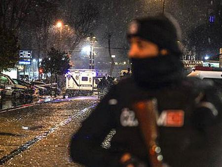 Policia estambul ataque