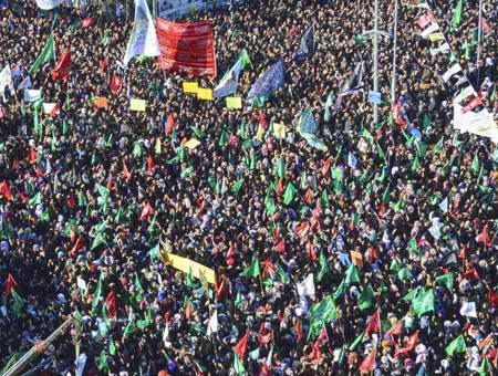 Protesta diyarbakir hezbola