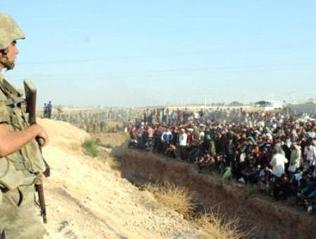 Refugiados frontera turca